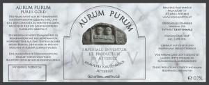 Aurum Purum Etikett
