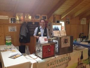 Biermesse Herwig am Stand Kaltenböck