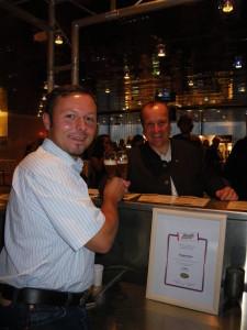 Bier-Staatsmeisterschaft 1.Platz mit Karl Schiffner