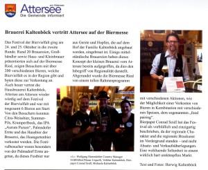 Gemeindezeitung Biermesse