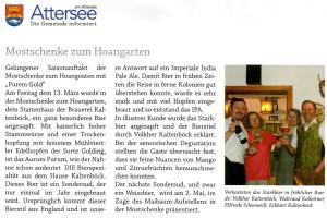Gemeindezeitung Attersee