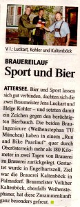 Sport und Bier